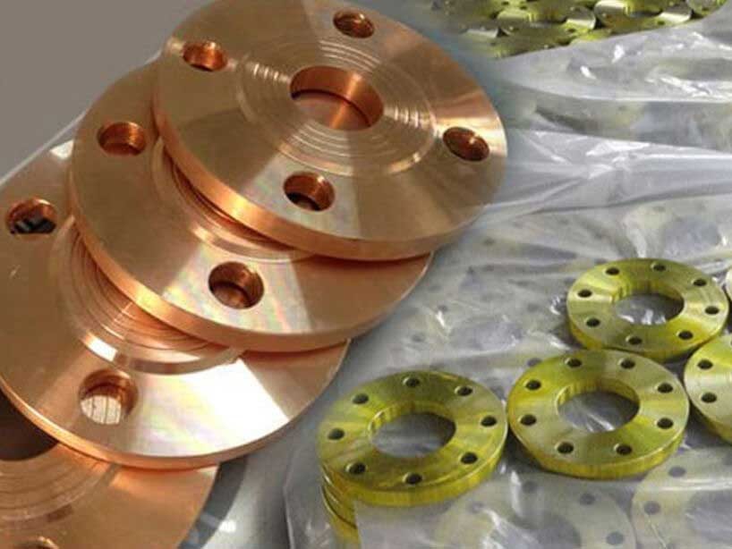 Copper Nickel 90/10 Flanges in Mumbai India